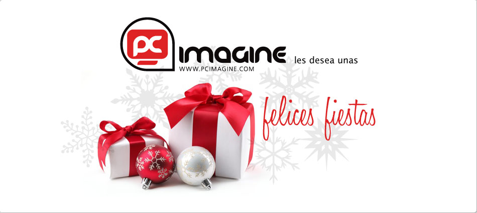 PC Imagine les desea felices fiestas